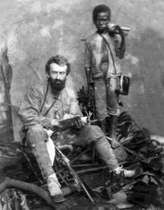 Papuan Ahmad and Mikluho - Maclay. Malacca, 1874 or 1875