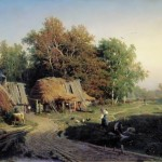 vasiliev The village, 1869