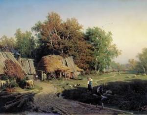 vasiliev The village, 1869