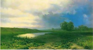 vasiliev Wet Meadow. 1872