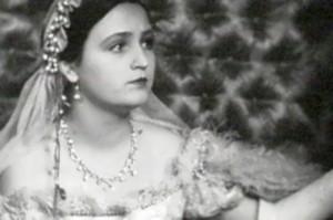 G. Grigorieva, beautiful Soviet theater and film actress