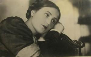 G. Grigorieva, beautiful Soviet theater actress