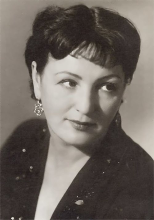 G. Grigorieva, beautiful Soviet actress
