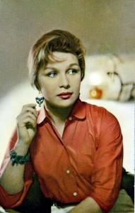 N. Myshkova Soviet actress