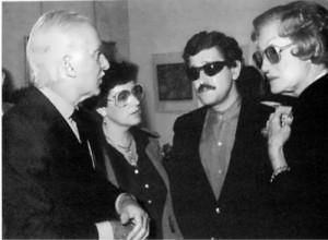 Alex Liberman, Ludmila Stern, Gennady Shmakov and Tatiana Liberman