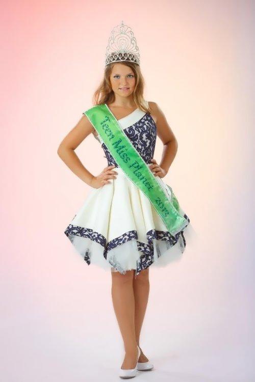Nastya Sivova - Little Miss Planet 2013
