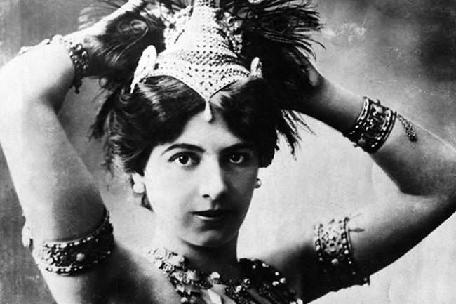 Mata Hari and her Russian love