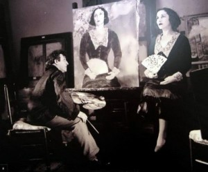 Chagall and Bella. 1934