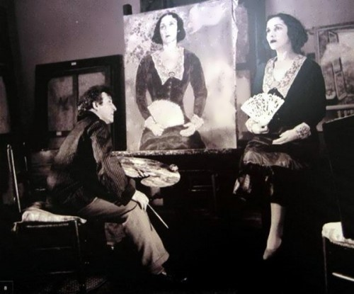 Chagall and Bella. 1934