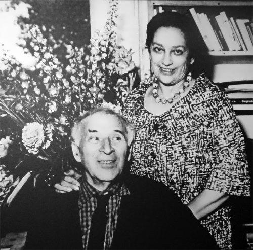 Chagall and Valentina Brodskaya
