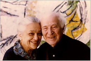 Chagall and Vava, his second wife
