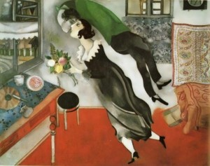 Chagall. Birthday