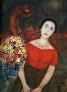 Chagall. Portrait of Vava
