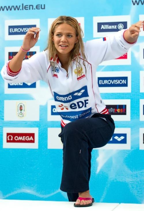 Yulia Efimova champion