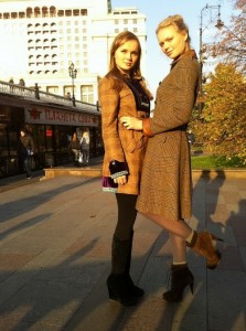 Ekaterina and her sister Alisa