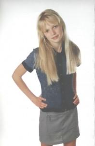 Ekaterina in her teens