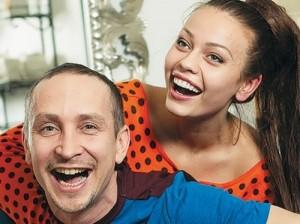 Gurina and singer Danko
