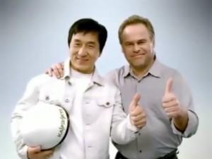 Jackie Chan and Kaspersky