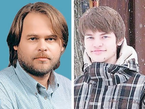 Kaspersky and his son Ivan