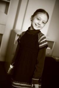 Katya Starshova - young Russian actress