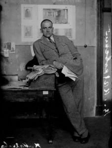 Mayakovsky, 1924. photo by N. Petrov