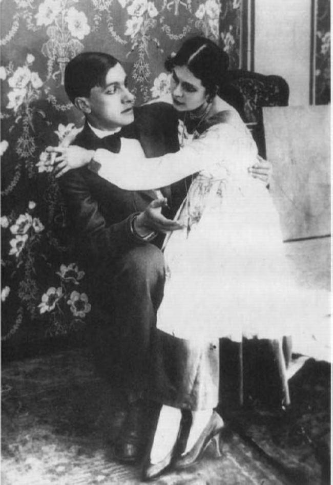 Lilya Brik and Vladimir Mayakovsky