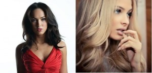 Megan Fox and Shishkova