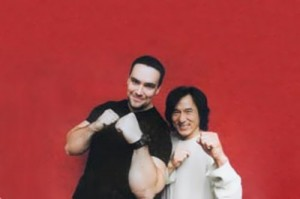 Nevsky and Jackie Chan