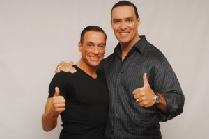 Nevsky and Jean-Claude Van Damme