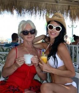Olesya and her grandmother