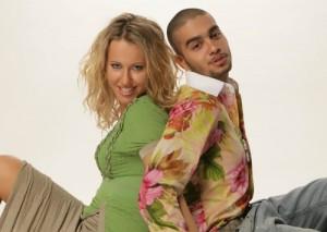 Timur and Ksenia Sobchak