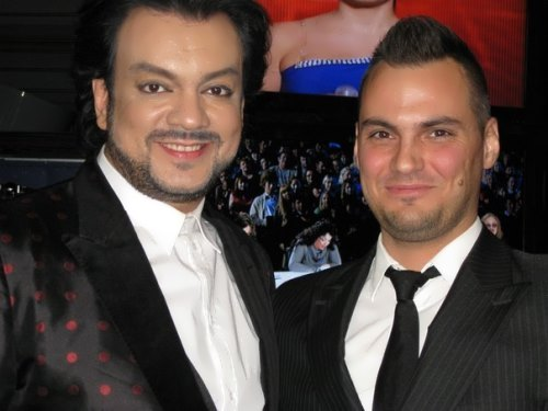 Vladimir Trezubov and Filipp Kirkorov