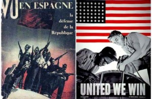 Vu magazine cover and poster World War II