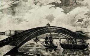bridge over the Neva