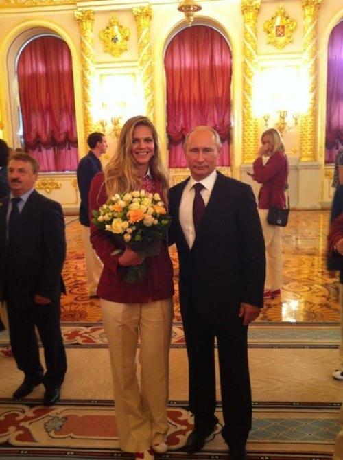 efimova and vladimir putin