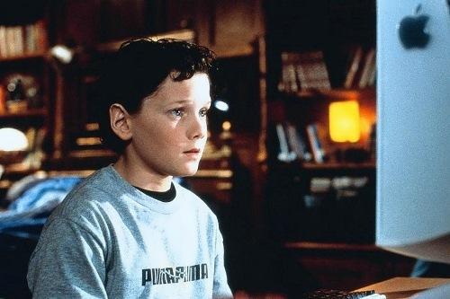 Yelchin in his childhood