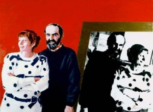 Bulatov and his wife