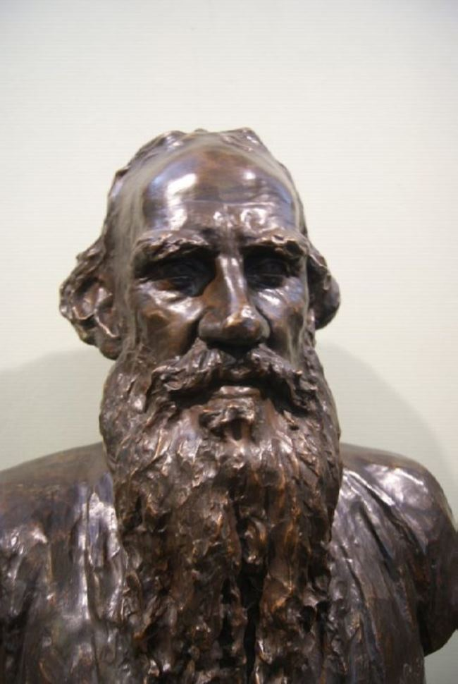 Bust of Tolstoy
