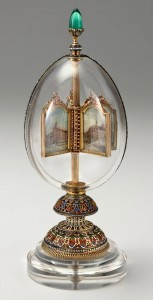 Egg with rotating thumbnail Faberge