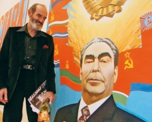 Bulatov and his most expensive painting