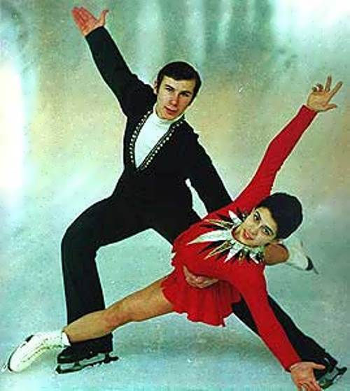 Irina Rodnina Soviet figure skater