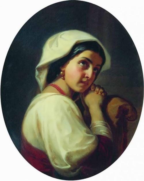 Italian woman Konstantin Flavitsky