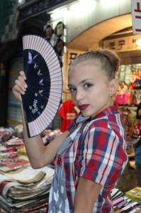 Dudkina beautiful Russian athlete
