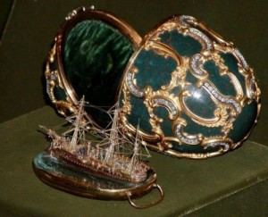 Memory of Azov Egg Faberge