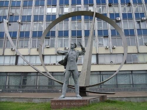 Monument to Nesterov in Kiev