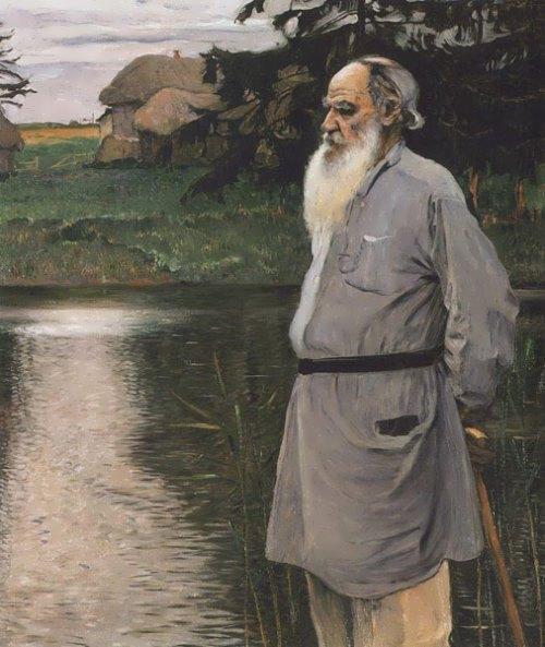 Nesterov Portrait of Tolstoy