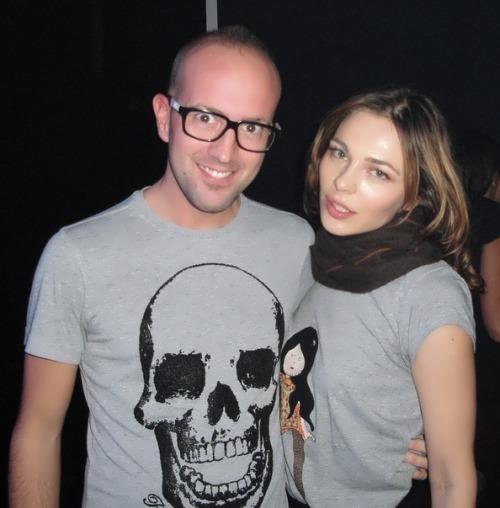 Nina Kraviz with Marco