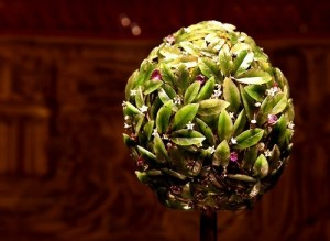 Orange Tree Egg faberge