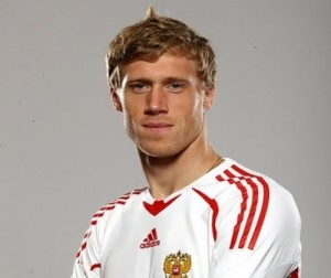 P. Pogrebnyak - successful football player and ideal husband