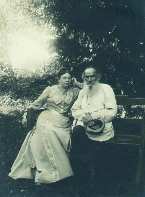 Tolstoy and his wife